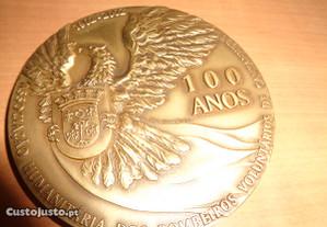 Medalha Bombeiros Cantanhede 100 Anos Of.Envio