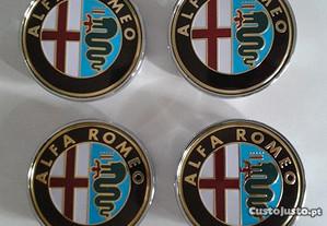 Centros para jantes Alfa Romeo 60mm