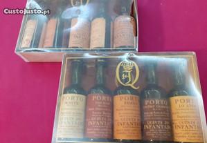 10 Miniaturas de Vinho Porto Infantado