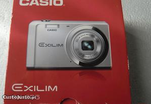Casio EX-ZS5 ( Várias Peças ) Caixa c/ Manual e CD