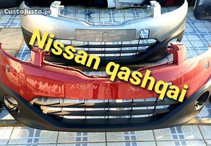 Nissan qashqai parachoques