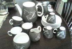 Serviço café em porcelana Rosenthal Bavaria 50´s