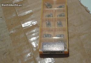 Caixa de 10 pastilhas p/ fresadora ou CNC AOMT1236