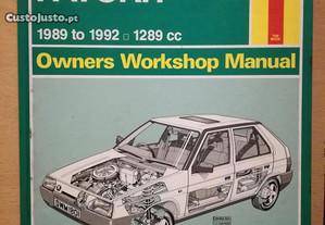 Skoda Favorit - Manual Técnico Haynes