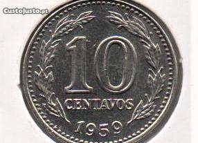 Argentina - 10 Centavos 1959 - soberba