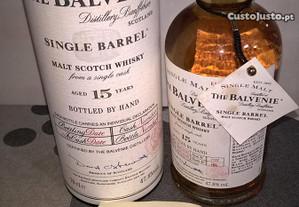 Whisky Balvenie Single Malt 15 anos numerada!