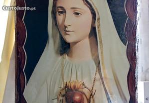 Quadro da Nossa Senhora muito Bonito Vintage