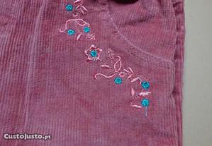 calças ativo em bombazine rosa