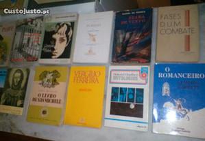 Conjunto de 11 Livros Diversos