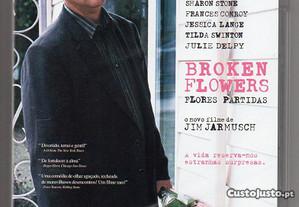 Broken flowers / Flores partidas - DVD novo