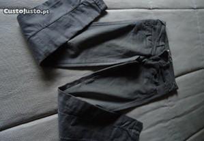 Calças de ganga cinzentas
