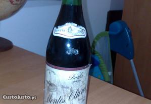 2-Garrafas de Vinho Tinto Montes Claros Reserva.