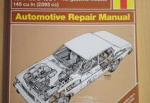 Nissan Datsun 810 Maxima - Manual Técnico Haynes