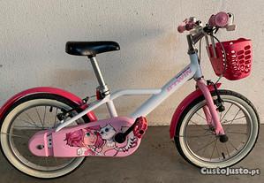 Bicicleta criança menina
