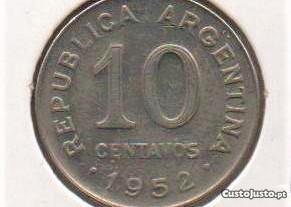 Argentina - 10 Centavos 1952 - soberba
