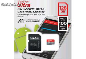 Cartão micro sd 128 GB