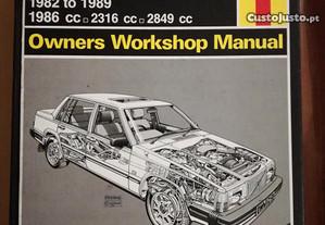 Volvo 740 760 Series - Manual Técnico Haynes