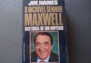 O Incrível Senhor Maxwell de Joe Haines