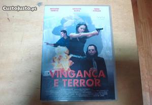 dvd original vingança e terror