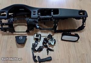 Kit Airbag Volvo V60/S60 Tablier Original