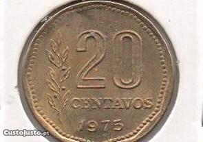 Argentina - 20 Centavos 1975 - soberba