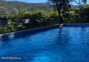 Alojamento com piscina no Geres
