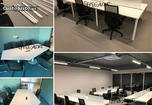 Mobiliario de escritorio Secretarias Mesas reuniao