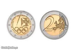 EUR2 2020 Portugal J. O. Tóquio bimetálica UNC