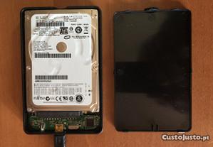 Disco Externo Portátil Fujitsu de 320 GB's