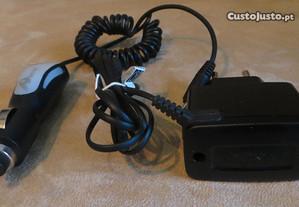 Carregadores Nokia 5800 / 6101 / 70 - De 220 e 12V