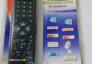 Controlo remoto universal RCUNIVERS41