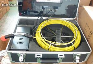 Borescópio 20 mt inspeção tubagens
