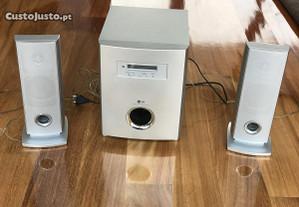 Sistema de som surround home cinema LG