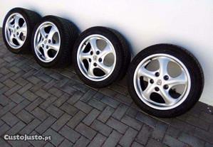 Jantes 17 Porsche com pneus