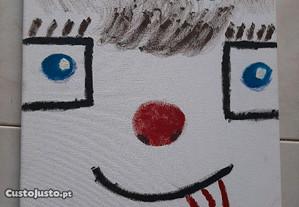 Pintura a oleo em tela