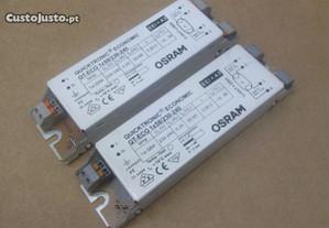 2 Balastros Electronicos OSRAM 1x58w Novos