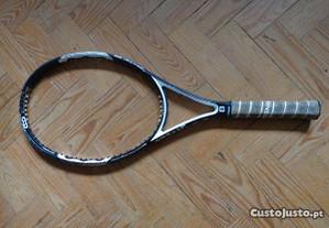 Raquete de tenis Wilson six two sem cordas