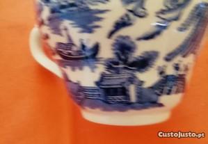 Chávena de chá porcelana inglesa Broadhurst