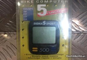 Conta Quilómetros Sigma Sport 500 Baseline novo