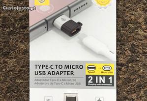 Adaptador Micro USB para Type-C (USB-C)