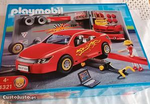 Playmobil 4321, Car Repair and Tuning Shop, NOVO