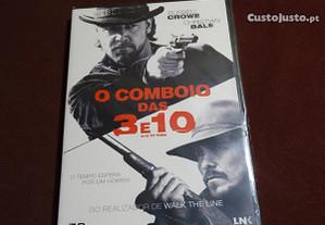 DVD-O comboio das 3 e 10-Novo e selado