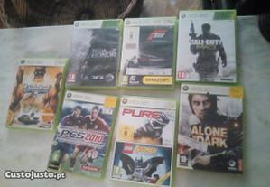 Conjunto de 7 Jogos Xbox360