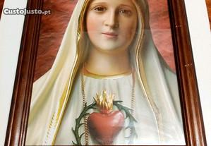 Quadro Sagrado Coração de Maria