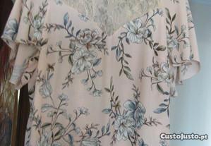 Blusa Vintage de Mulher - Tamanho M / L