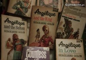 Livros em inglês vários géneros
