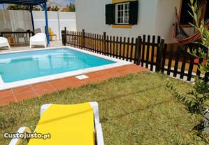 Vivenda, piscina privada, férias Ch. de Caparica