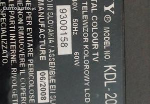 LCD Sony kdl20s3020 para pecas