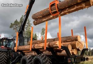 Extração de madeiras pinho eucalipto etc