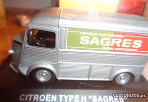 Miniatura Citroen Type H` Sagres` Of.Envio Rara